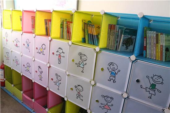 观门街小学班级书柜
