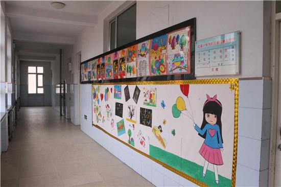 红星小学校园阅读环境